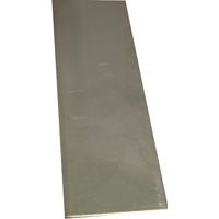 K & S 7161 Metal Strip, 0.018 in T, 12 in L x 1 in W, Stainless Steel