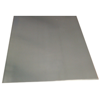 K & S 7185 Metal Sheet, 0.025 in T, 12 in L x 6 in W, Stainless Steel