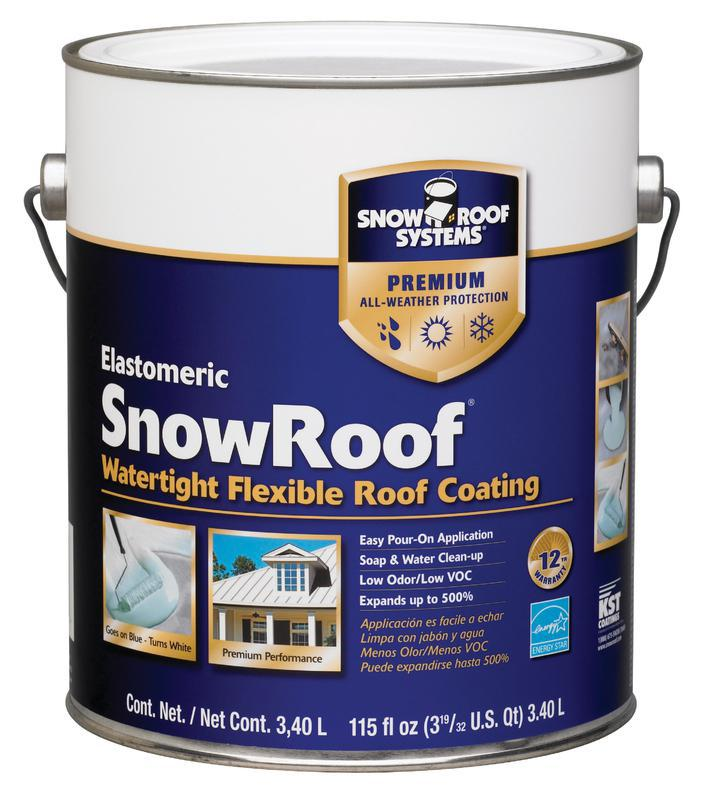 1 GALLON SNOW ROOF COATING