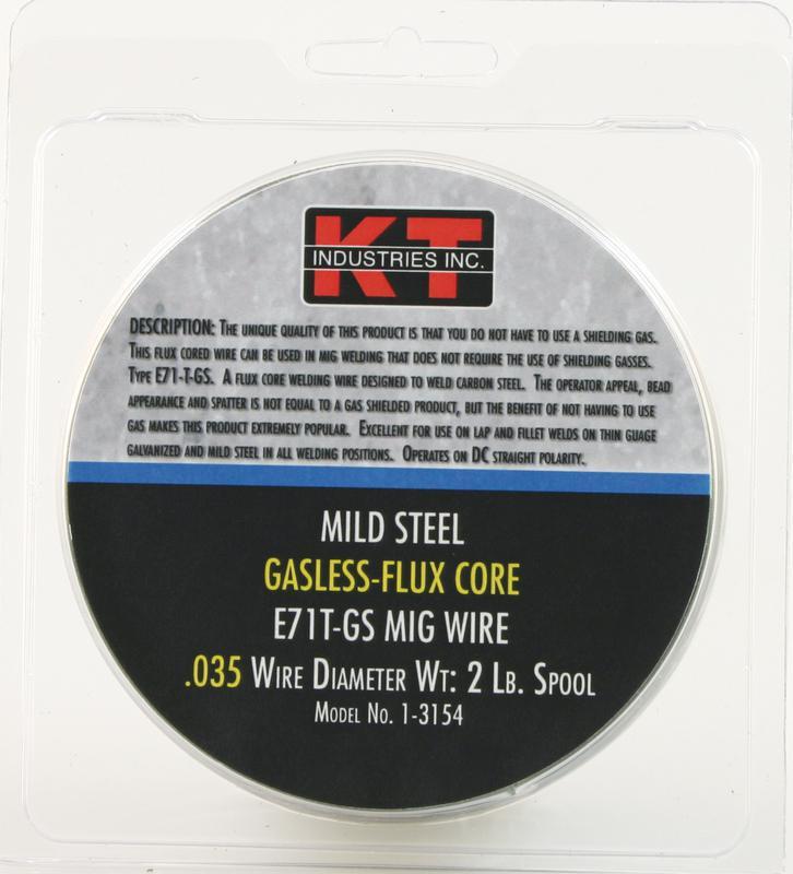 1-3154 2# .035 GASLES MIG WIRE