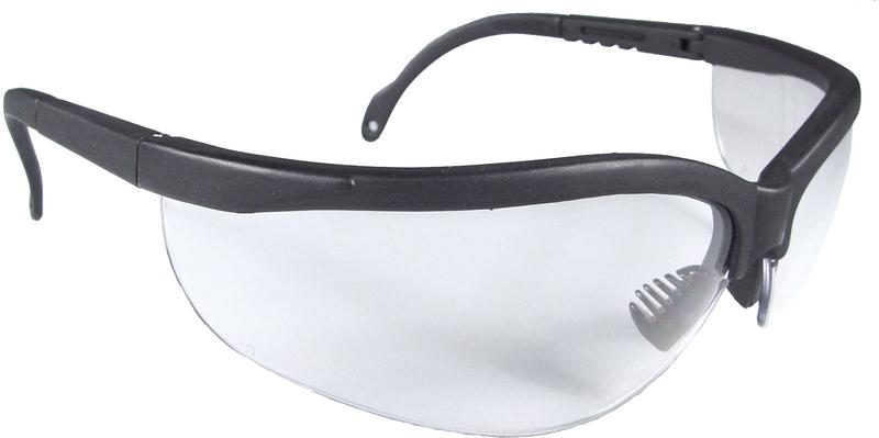 4-2436 CLEAR SAFETY GLASSES