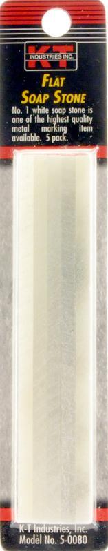 5-0080 5PK FLAT SOAP STONE
