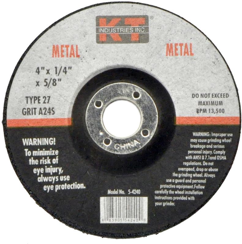 5-4240 4 IN. METAL GRINDING WHEEL