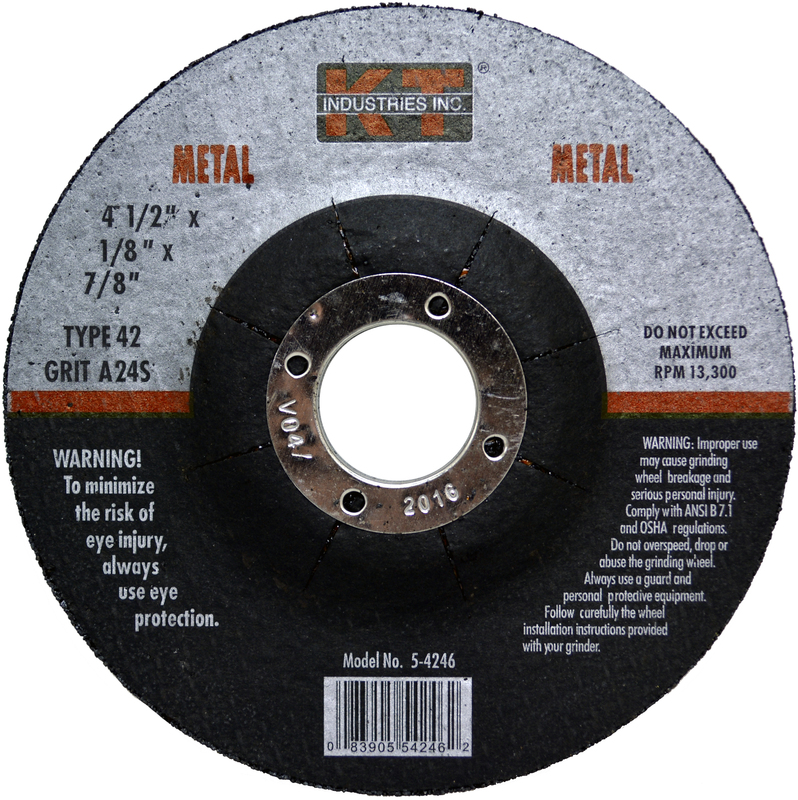 5-4246 4.5 IN. METAL GRIND WHEEL
