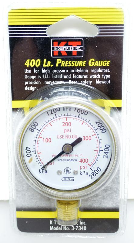 3-7340 400LB PRESSURE GAUGE