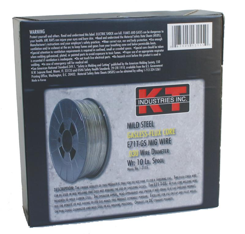 1-3155 10#.030 Gasless Mig Wire