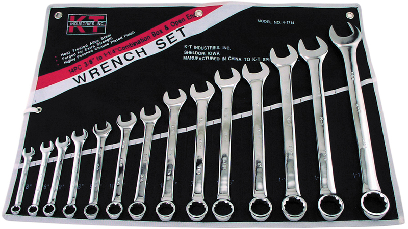 4-1714 14PC COMBO WRENCH SET