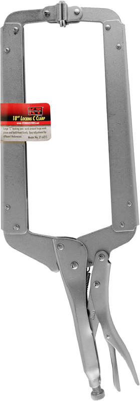 21-6215 18 IN. LOCKING C CLAMP