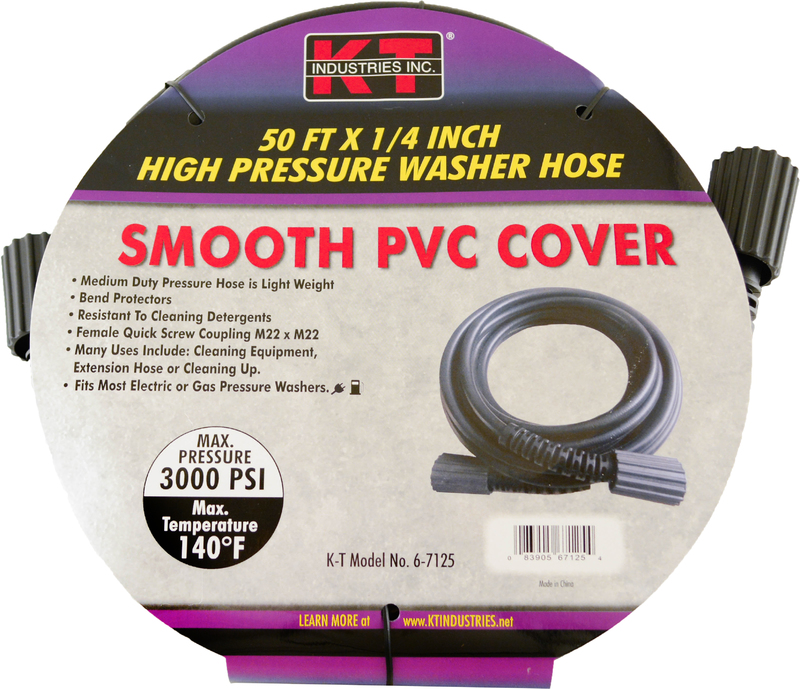 6-7125 1/4 IN. X50 FT. PRESSURE HOSE