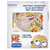 FAIRY LGHTS MNION LED B/O 20/L
