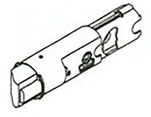 19831 SA DL 6WAL DEADLATCH