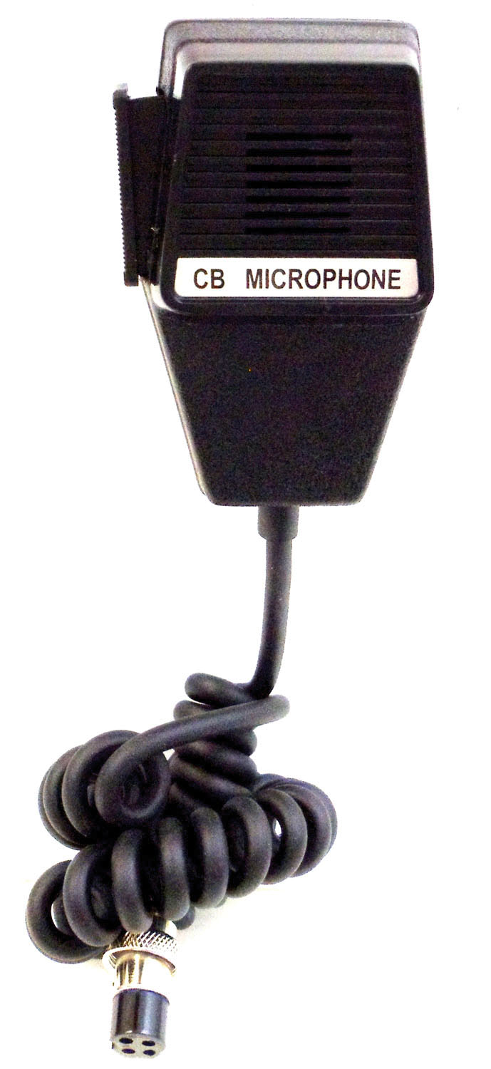 4 PIN REPLACEMENT MICROPHONE W/6' CORD (BULK)