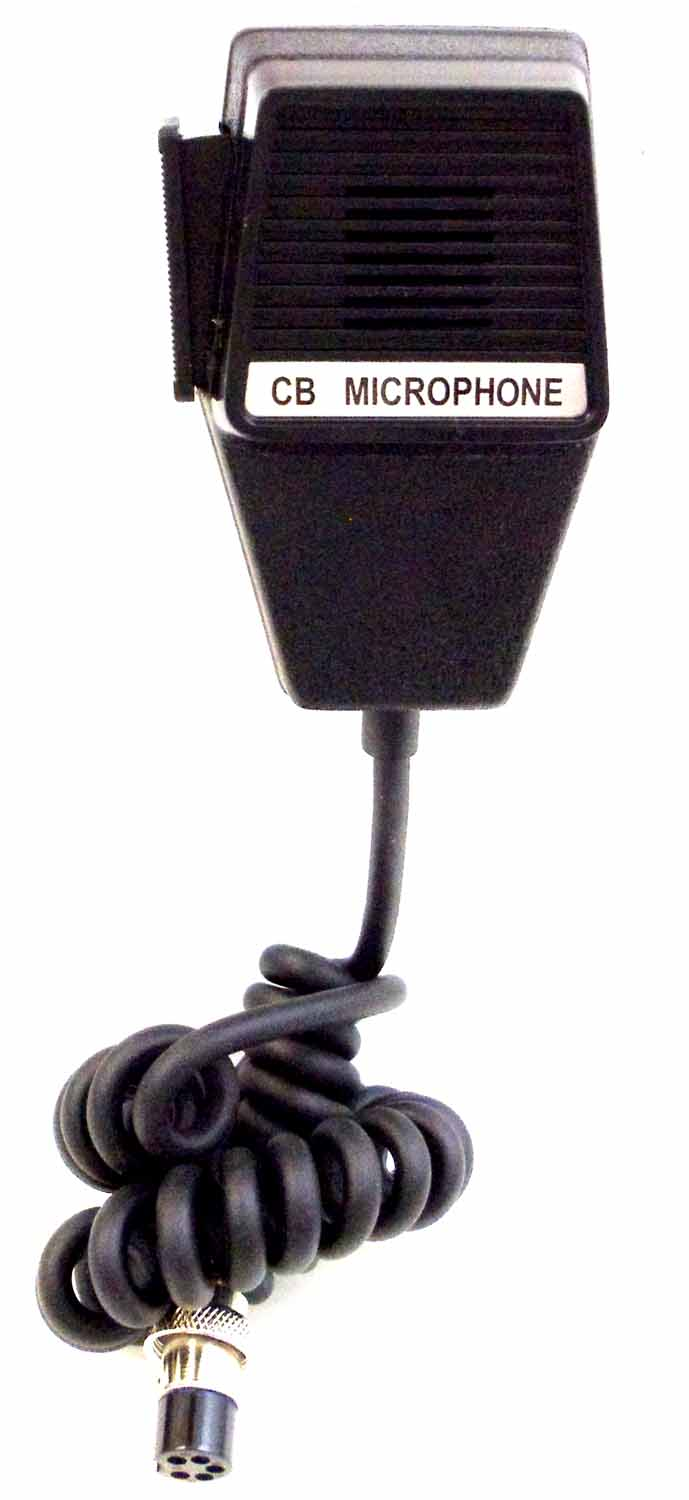 5 PIN REPLACEMENT MICROPHONE W/6' CORD