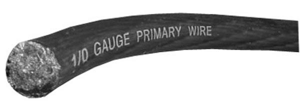 0 GAUGE POWER WIRE (RED) 50' ROLL