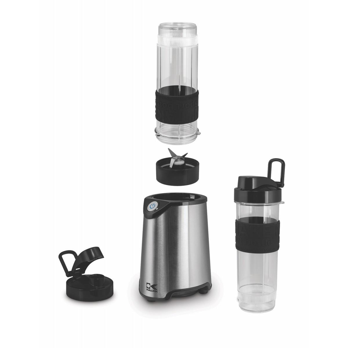 Kalorik Home and Kitchen Stainless Steel Personal Sport Multipurpose Blender - Black