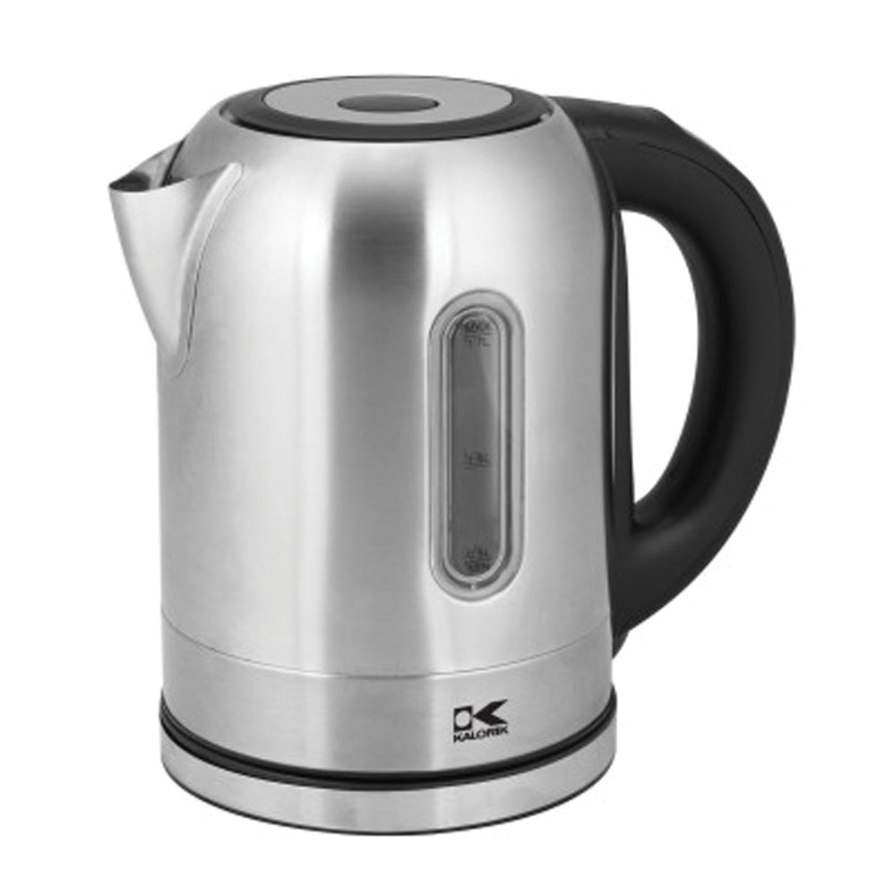 Kalorik Kitchen Digital Water Kettle with Color Changing LED lights - Stainless Steel