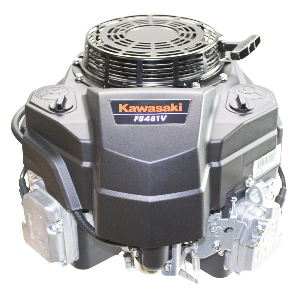 """14.5hp* Vertical 1""""x3-5/32""""Shaft, """"FS"""", Fuel Pump, Recoil Start, 13 Amp Alt, OHV, CIS Kawasaki Engine"""