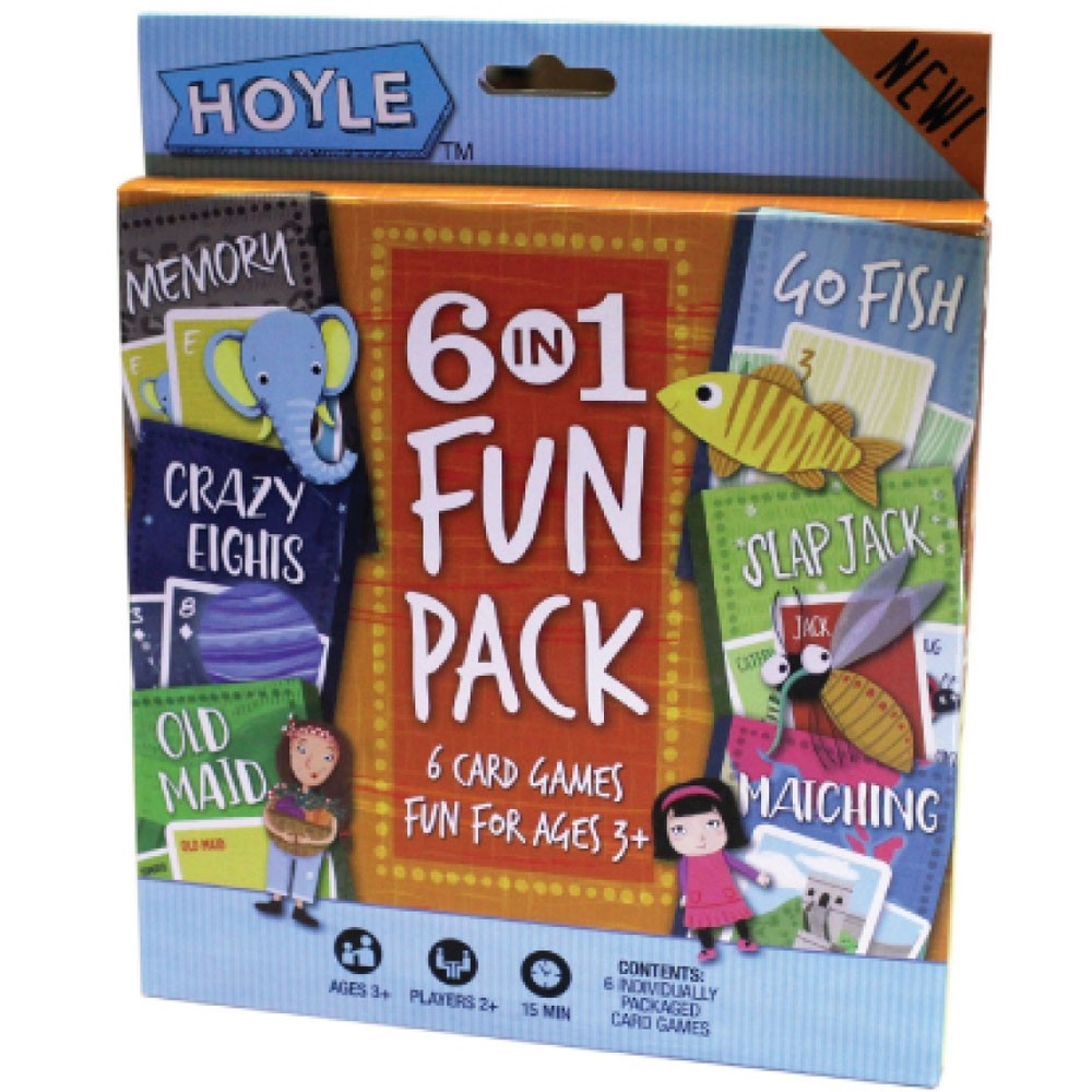 6-in-1 Fun Pack, 6-pack PDQ