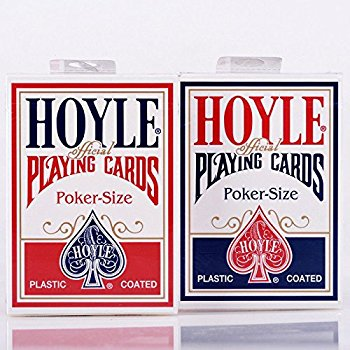 Hoyle Poker, Standard Index, 6 Double-decks Red/Blue