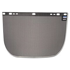 """Kimberly-Clark Professional* Jackson Safety* Model F60 9"""" X 15 1/2"""" X .016"""" Black Aluminum Bound Steel Mesh Wire Faceshield For"""