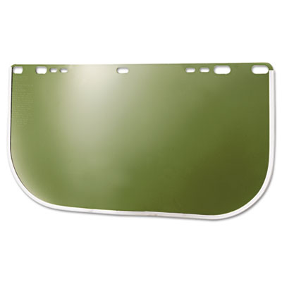 "HUNTSMAN 8154M F30 Acetate Face Shield, Clear, 8"" x 15.5"" x .040"""