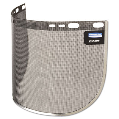 HUNTSMAN 815WS F60 Wire Face Shield Visor, Gray, 8� x 15 1/2�