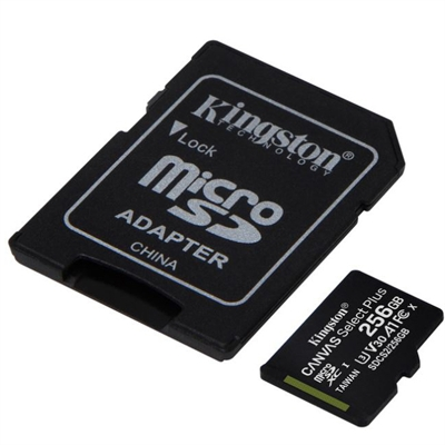 256GB micSDXC Canvas Select Pl