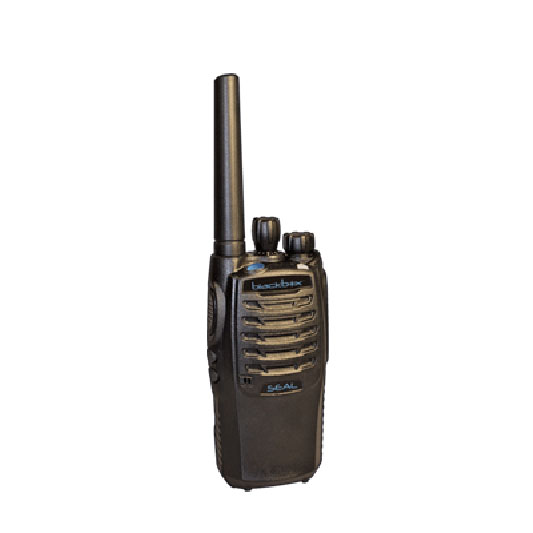BLACKBOX - 400-470 MHZ UHF 16 CHANNEL 4 WATT HANDHELD RADIO