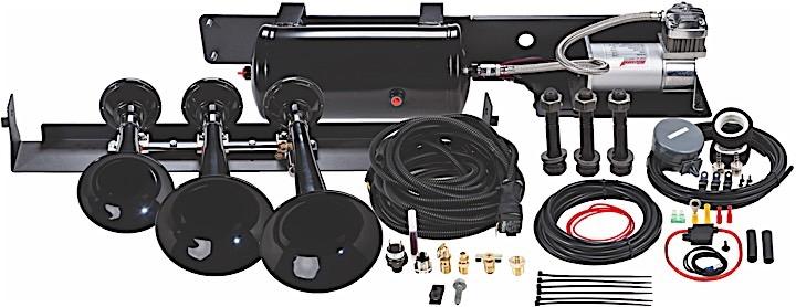 09-14 F150/SVT RAPTOR VELOCI-RAPTOR 230 TRIPLE ABS TRAIN HORN & 100% DUTY CYCLE ONBOARD AIR SYSTEM