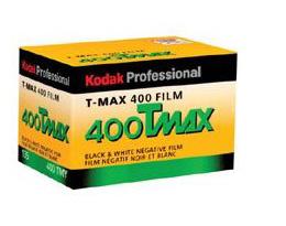 Kodak T-Max Professional 35mm 400ASA 24-Exposure Black & White Film