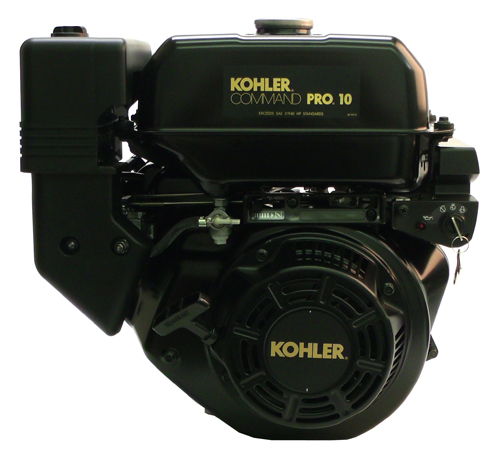 Kohler Engine 10hp CS Command Horizontal  Std Tapered Shaft  Recoil & Electric Start  LOS  Fuel Tank