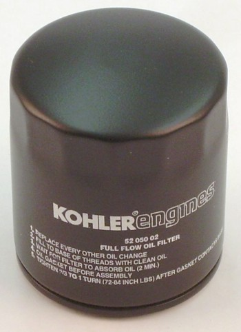 KO-5205002S KOHLER FILTER-OIL TALL 52 050 02-S (KOHLER OIL FILTER) Kohler Engine Parts