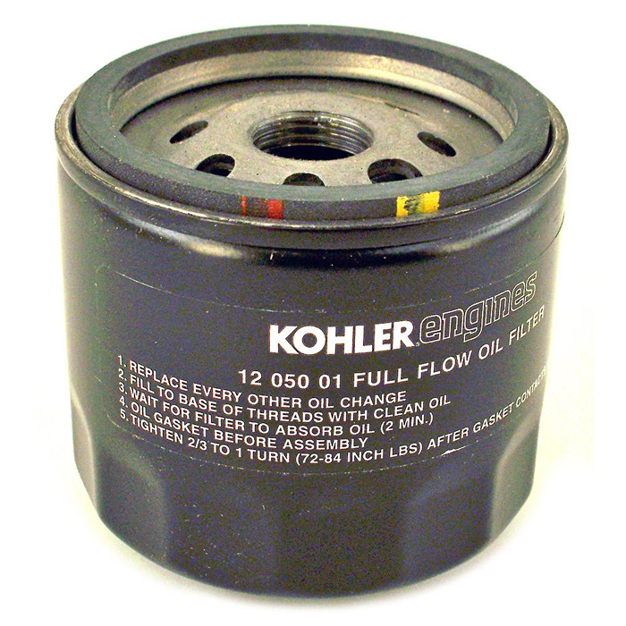 KO-1205001S KOHLER FILTER-OIL SHORT 12 050 01-S (KOHLER OIL FILTER) Kohler Engine Parts