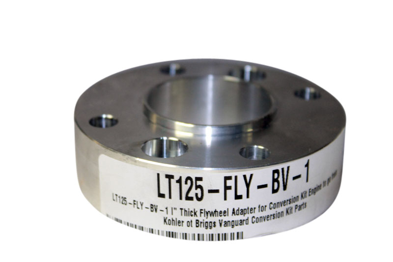 "LT125-FLY-BV-1 I"" Thick Flywheel Adapter for Conversion Kit Engine to go from Kohler ot Briggs Vanguard Conversion Kit Parts"