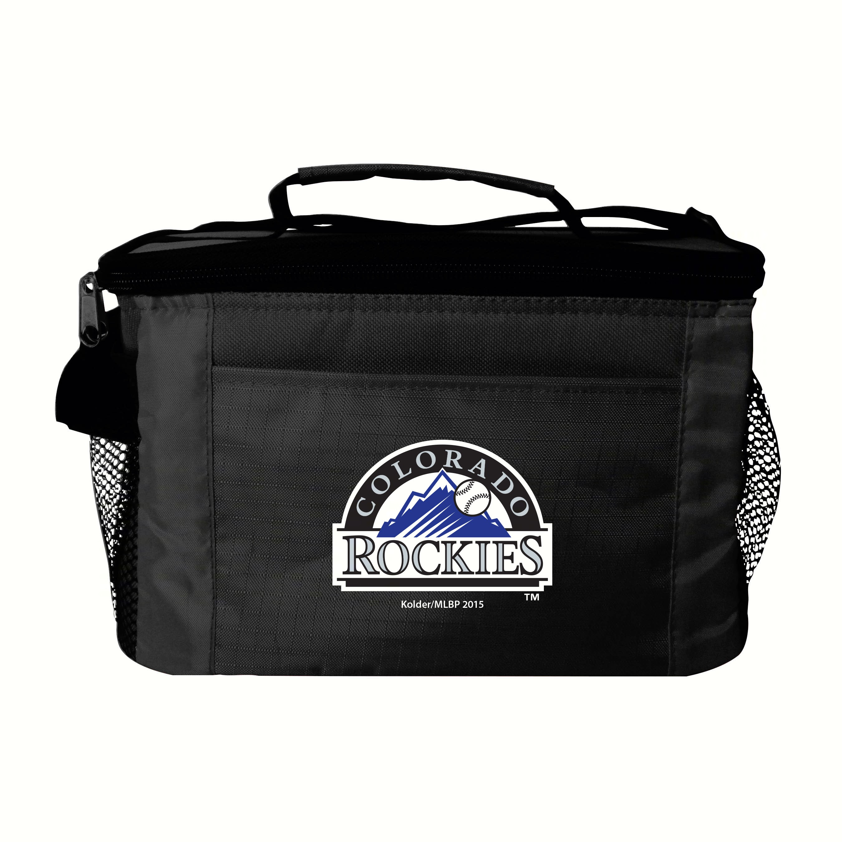 6 pack Kooler Bag - Colorado Rockies