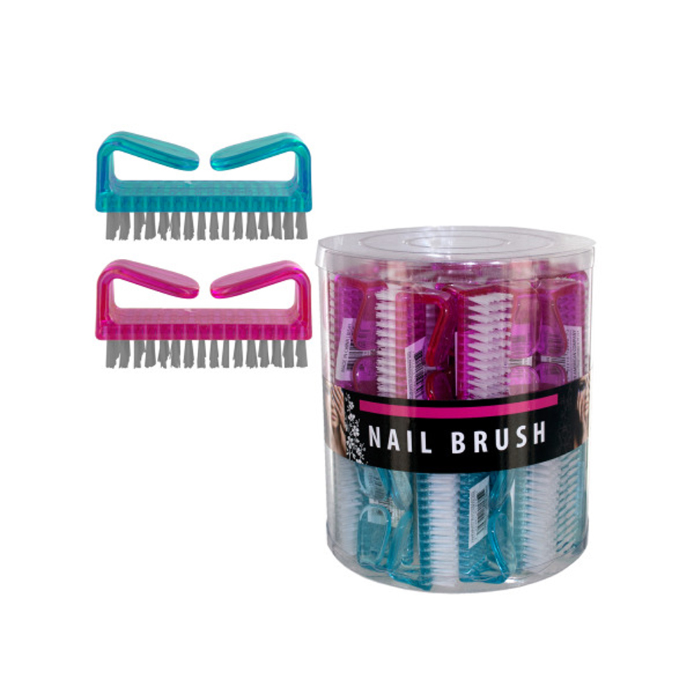 Nail Brush Counter Top Display Case Of 40