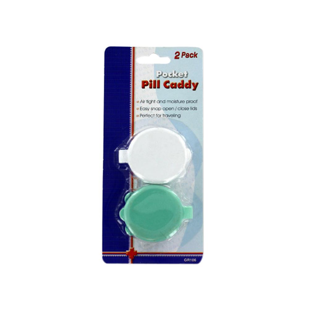 Pocket Pill Caddy Set Pack Of 24
