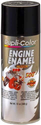 DE1613 Ceramic Gloss Black Engine Paint - 12 oz.