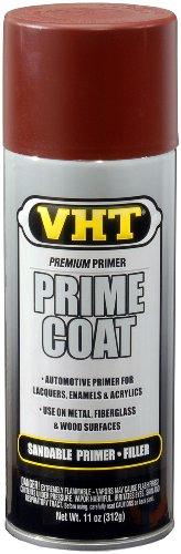 SP303 Prime Coat Red Oxide Sandable Primer Filler Can - 11 oz.