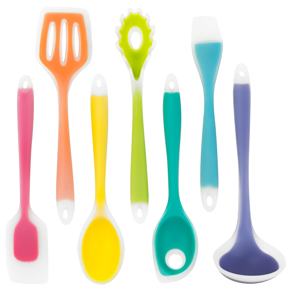 7 Piece Silicone Utensil Set