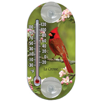 THERMOMETER CARDINAL 4IN