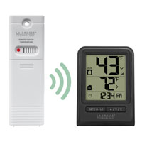 WEATHER STATION TEMP WITH TIME