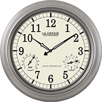 CLOCK ANALOG QUARTZ IN/OUT18IN