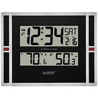 La Crosse 513-149 Automatic Clock With Snooze Digital Display