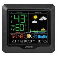 La Crosse 308-146 Wireless Weather Station With USB Charging, 1 - 99%