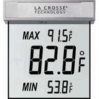 LA CROSSE TECHNOLOGY WS-1025 Outdoor Window Thermometer