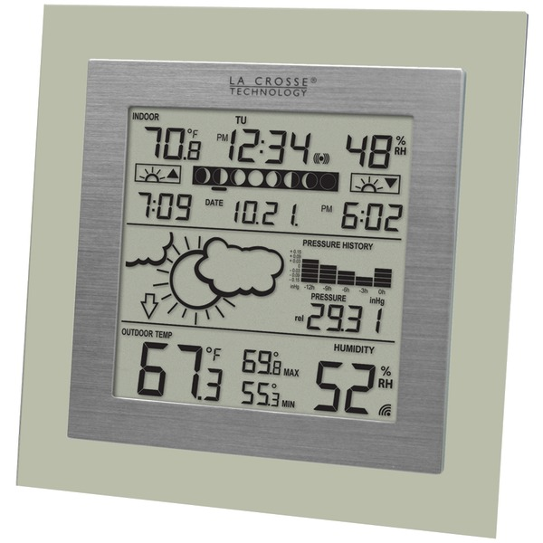 LA CROSSE TECHNOLOGY WS-9257U-IT Wireless Weather Station