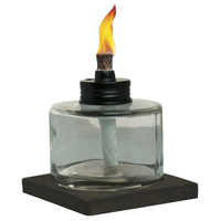 TORCH TABLE GLS VOTIVE 4IN