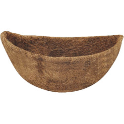 Mintcraft T51484-3L Planter Liners, Coconut Fabric, 14 Inch W x 6-1/2 Inch H