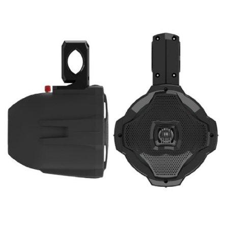 """Lanzar 6.5"""" 2-Way Wake Board Speaker Sold Each Black"""